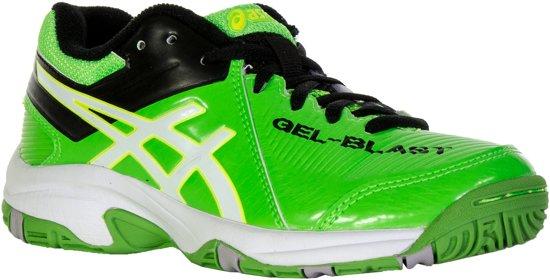 asics indoor schoenen groen