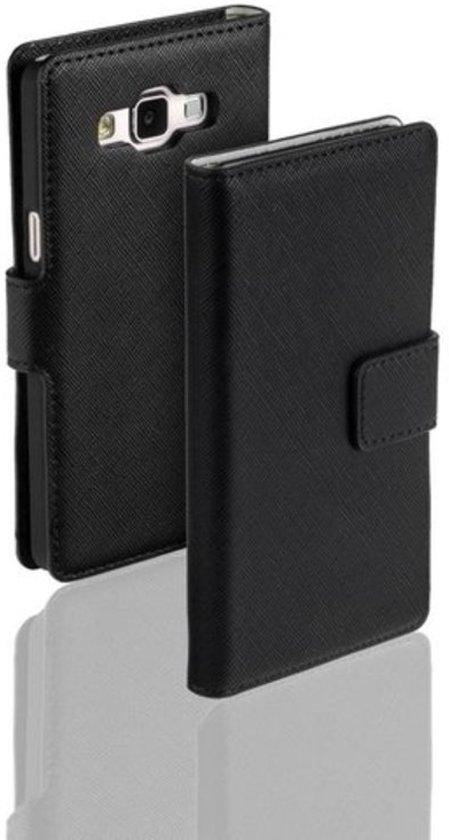 Zwart Samsung Galaxy A5 Bookcase Wallet Cover Hoesje