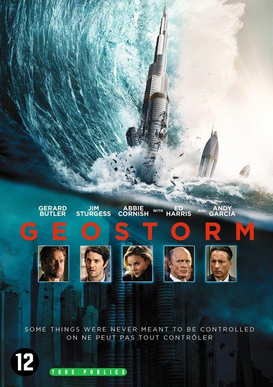 DVD cover van Geostorm