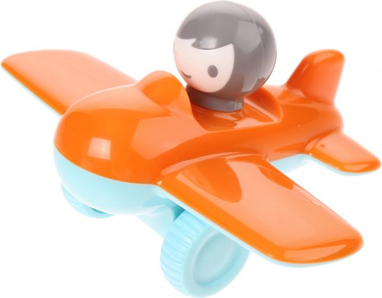 Kid O Vliegtuig Mini 12 X 15 X 8 Cm Oranje
