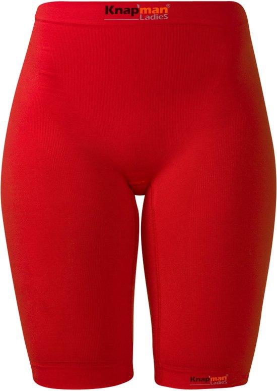 Knapman Compressiebroek Dames 45% rood - maat XS