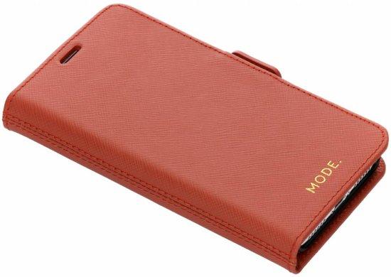 MODE. magnetic wallet New York - rusty rose - voor Apple iPhone X/Xs