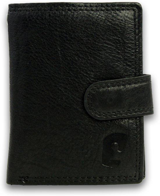 bf4923613ce bol.com | Safekeepers Pashouder - Hamburg - Echt leer - RFID - Zwart