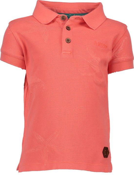 B. Nosy Jongens T-shirt - Neon carrot - Maat 146/152