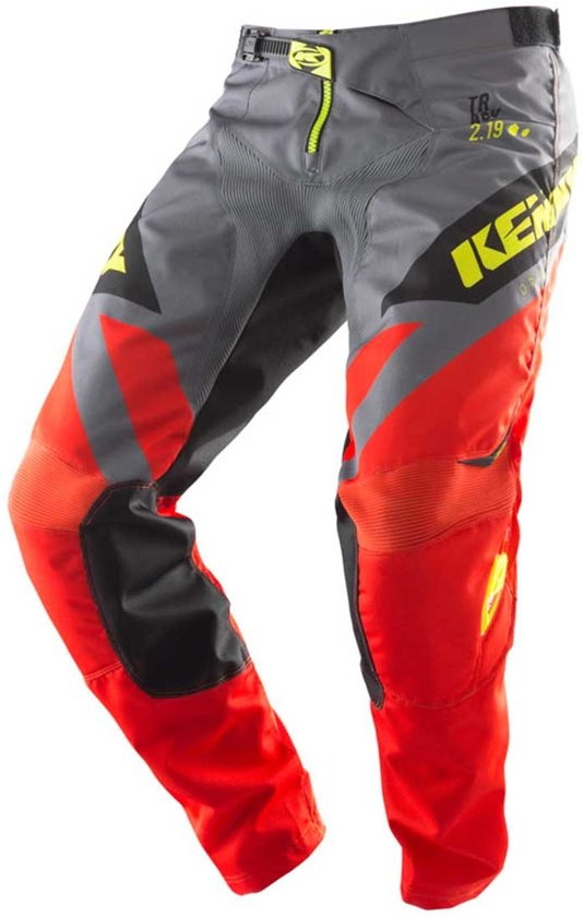 neon Crossbroek Track 26 Kinder Orange Kenny Yellow grey c354RjAqL