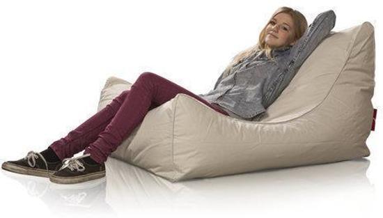 LC Lounge stoel zitzak Bali outdoor beige - Wasbaar - Geschikt voor buiten