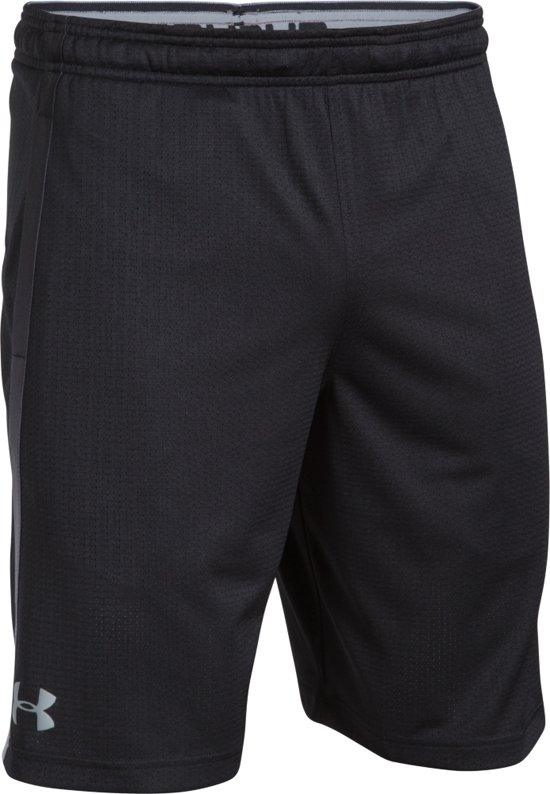 Under Armour Tech Mesh Short Sportbroek Heren - Zwart - Maat L