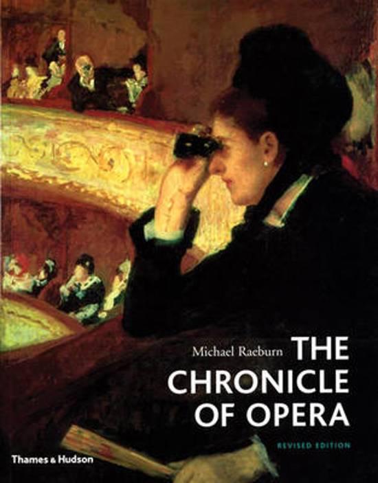 Afbeelding van Chronicle of Opera
