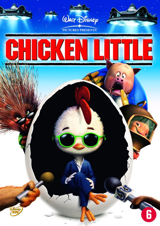 Cover van de film 'Chicken Little'
