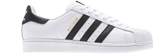 Unisex 1 Sneakers 3 Wit Superstar Adidas Maat 45 qHYO8npx