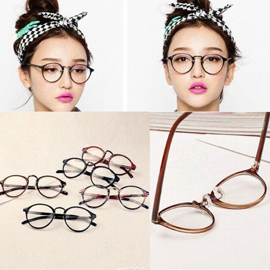 stijvolle nerdbril zonder sterkte retro bril. Black Bedroom Furniture Sets. Home Design Ideas
