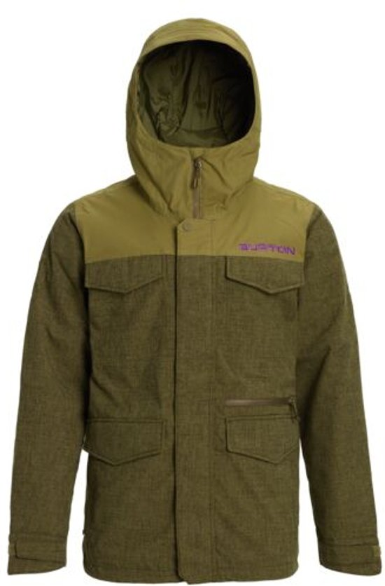 Burton Covert Slim snowboardjas keef heather / martini olive