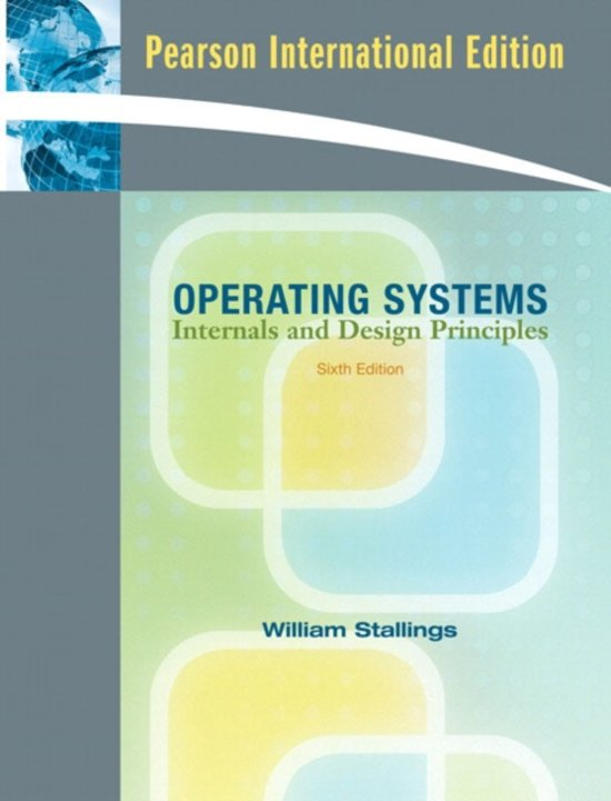 William Stallings Operating Systems Book