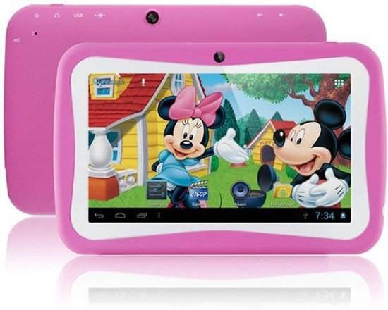 Roze Kinder Tablet.Kinder Tablet 7 Inch Pink Roze