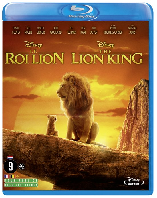 DVD cover van The Lion King (Blu-ray)