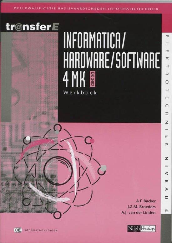 Informatica Hardware Software 4MK DK3402 deel Werkboek
