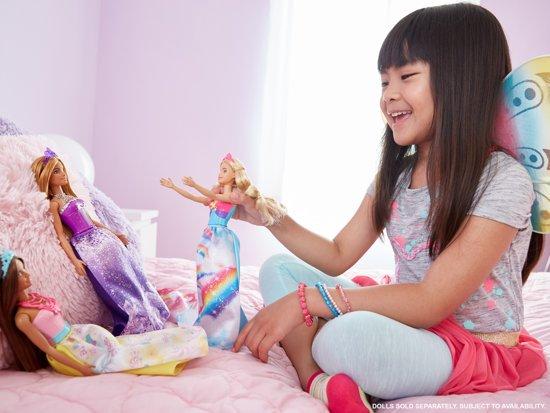 Barbie Dreamtopia Regenboog Prinses Blond - Barbiepop