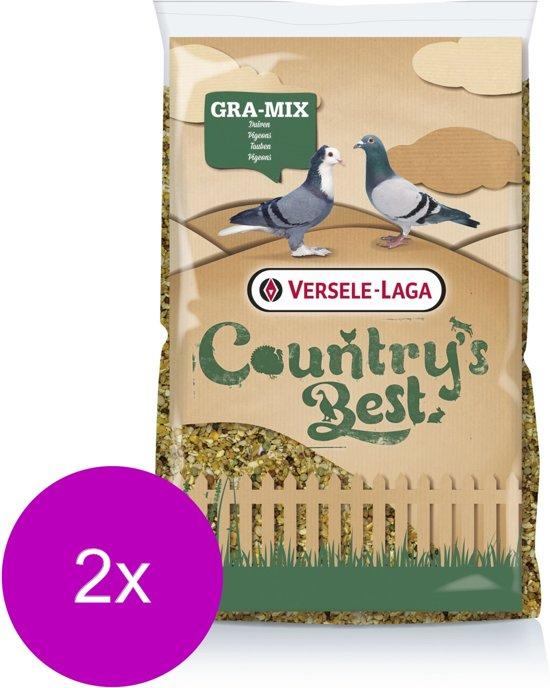 Versele-Laga Country`s Best Gra-Mix Sierduiven Gebroken Mais - Pluimveevoer - 2 x 20 kg