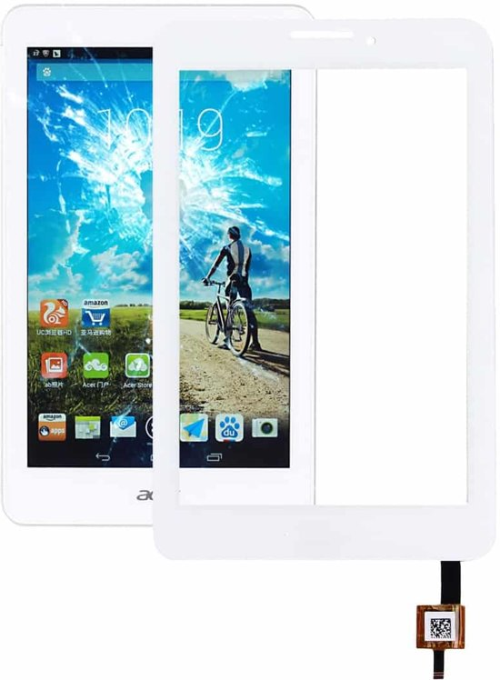 Let op type!! Touch Panel for Acer Iconia Tab 7 A1-713HD (White)