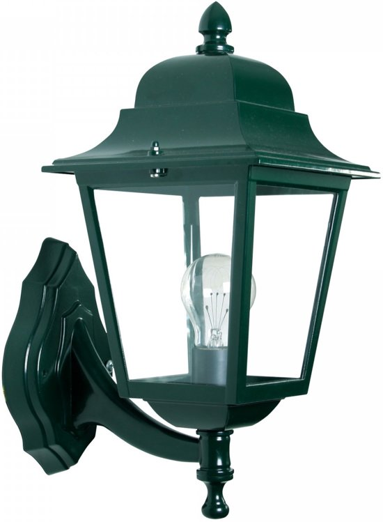 Fabulous bol.com | K.S. Verlichting Lantaarn Wandlamp Sorrento staand groen OZ64