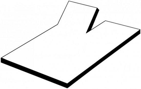Oplegmatras - Topper - Traagschuim - 180x200x7 cm
