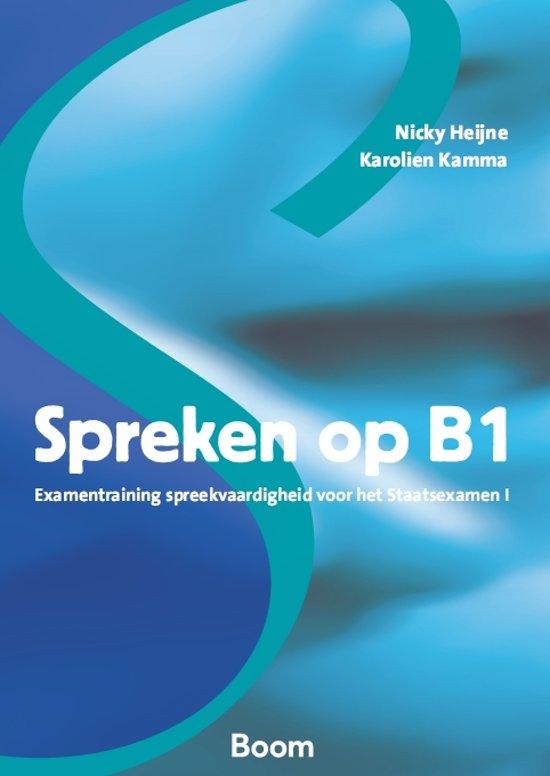 Spreken op B1