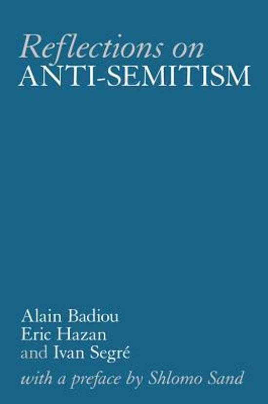 an essay on the anti semitism and satre
