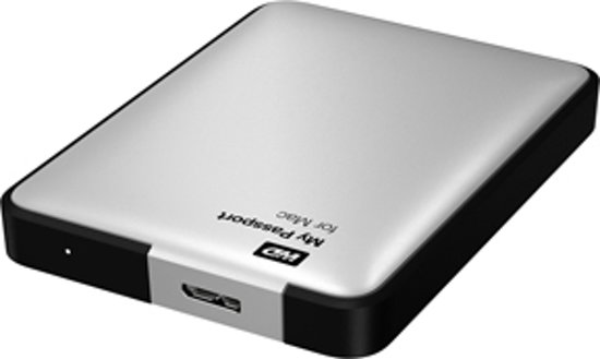 Western Digital My Passport Essential Mac Edition - 500GB / Zilver