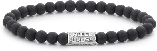 Rebel&Rose armband - Mad Panther - 6MM S (16,5CM)