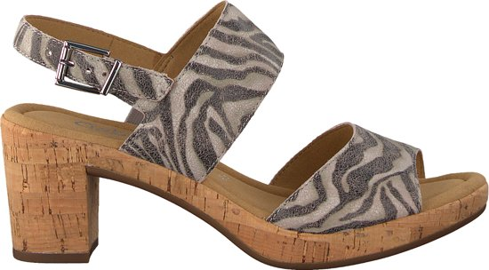 | Gabor Dames Sandaletten Roze Maat 39