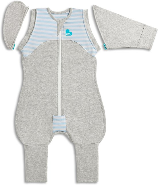 Love to Dream - Swaddle Up 50/50 Transition Suit 1.0 TOG blauw XL