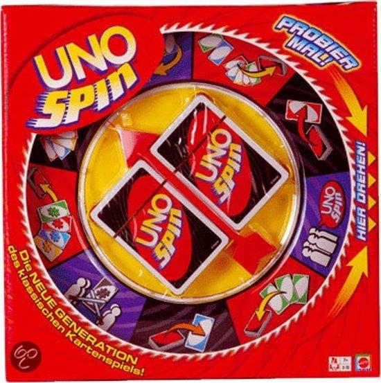 Mattel Uno Spin Gezelschapsspel