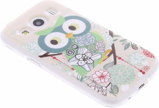 Hiboux Cas De Tpu De Conception Pour Samsung Galaxy Ace 4 hXavhPEh