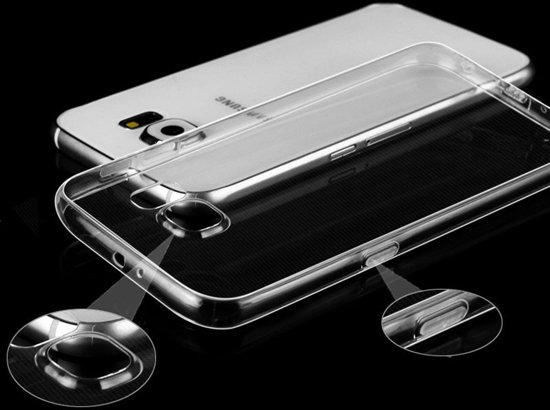 0,3mm silicone hoesje transparant Samsung Galaxy S7 Edge Plus