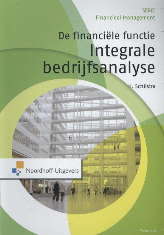 De financiele functie: integrale bedrijfsanalyse
