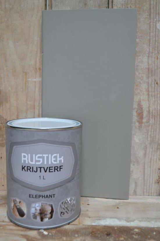 Rustiek Krijtverf 0,5 liter Elephant