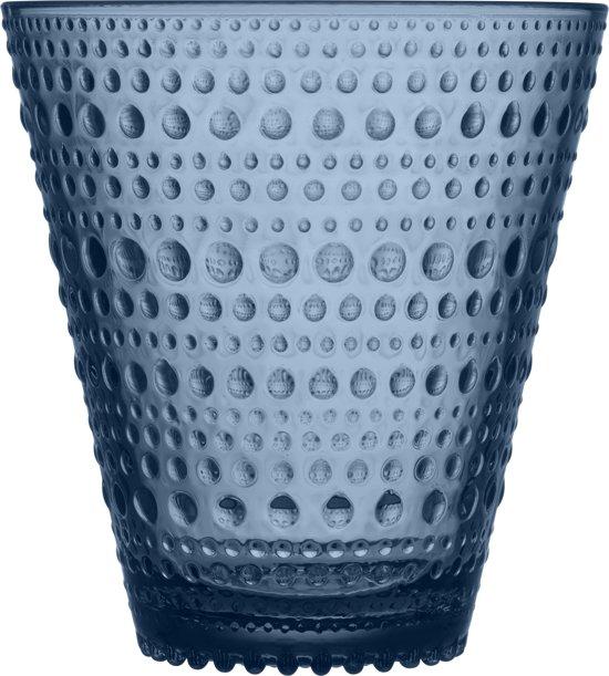Iittala Kastehelmi Glas - 30 cl - Regenblauw - 2 Stuks