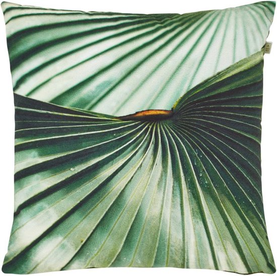 Dutch Decor Coltax - Sierkussen - 45x45 cm - Groen