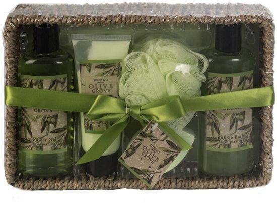 Badset Olive Geschenkset Cadeau Voor Haar Cadeau Voor Valentijn Voor Geliefde