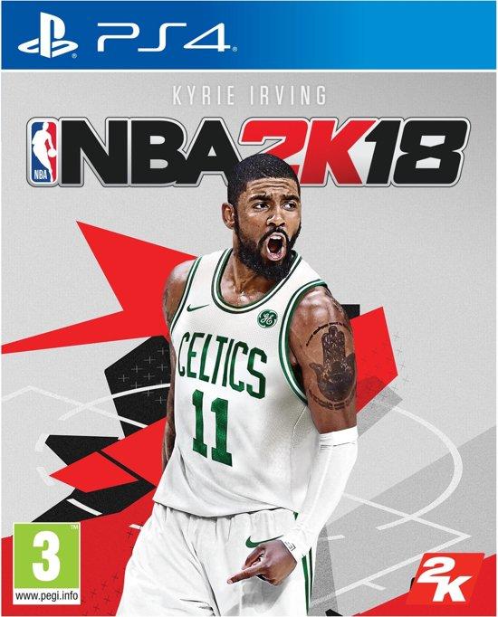 NBA basketball 2K18 PS4