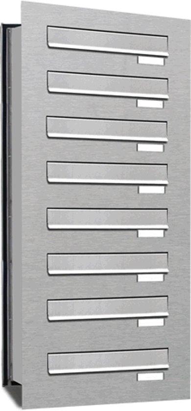 Inbouw brievenbus 8 adressen(inbouw)