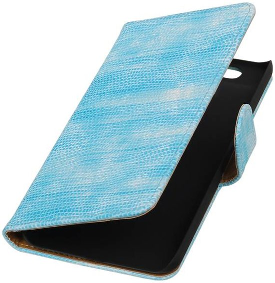 Huawei Nexus 6P Turquoise | Lizard bookstyle / book case/ wallet case Hoes  | WN™