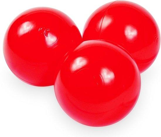 Ballenbak ballen rood (70mm) voor ballenbak 100 stuks
