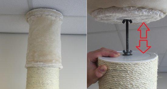 Krabpaal Maine Coon Tower PLUS Crème
