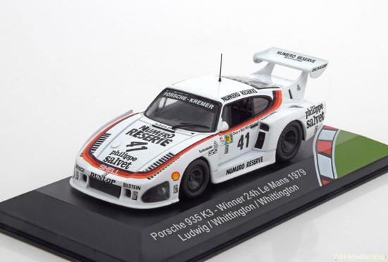 Porsche 935 K3 #41 Winner 24h Le Mans 1979 - 1:43 - CMR Classic Model Replicars