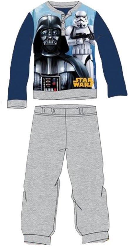 Star Wars pyjama - maat 98 - grijs