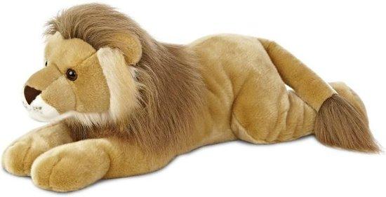 Aurora Knuffelleeuw Leo Super Flopsie 68,5 Cm Bruin