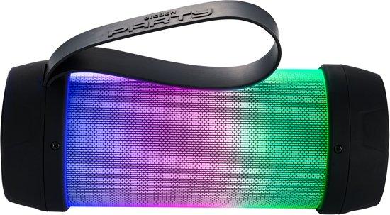Bigben Bluetooth Party Speaker Mini - LED-verlichting - Zwart