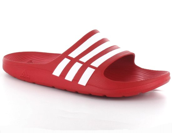 bol.com | adidas G15886 - Slippers - Heren - Maat 40,5 - Rood