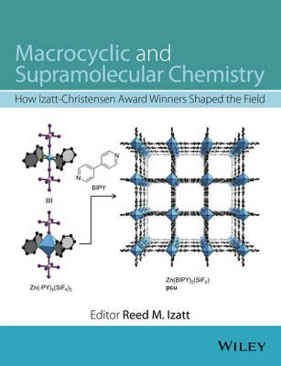 Macrocyclic and Supramolecular Chemistry